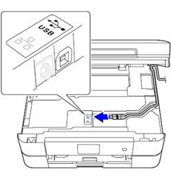ブラザー プリンター 接続